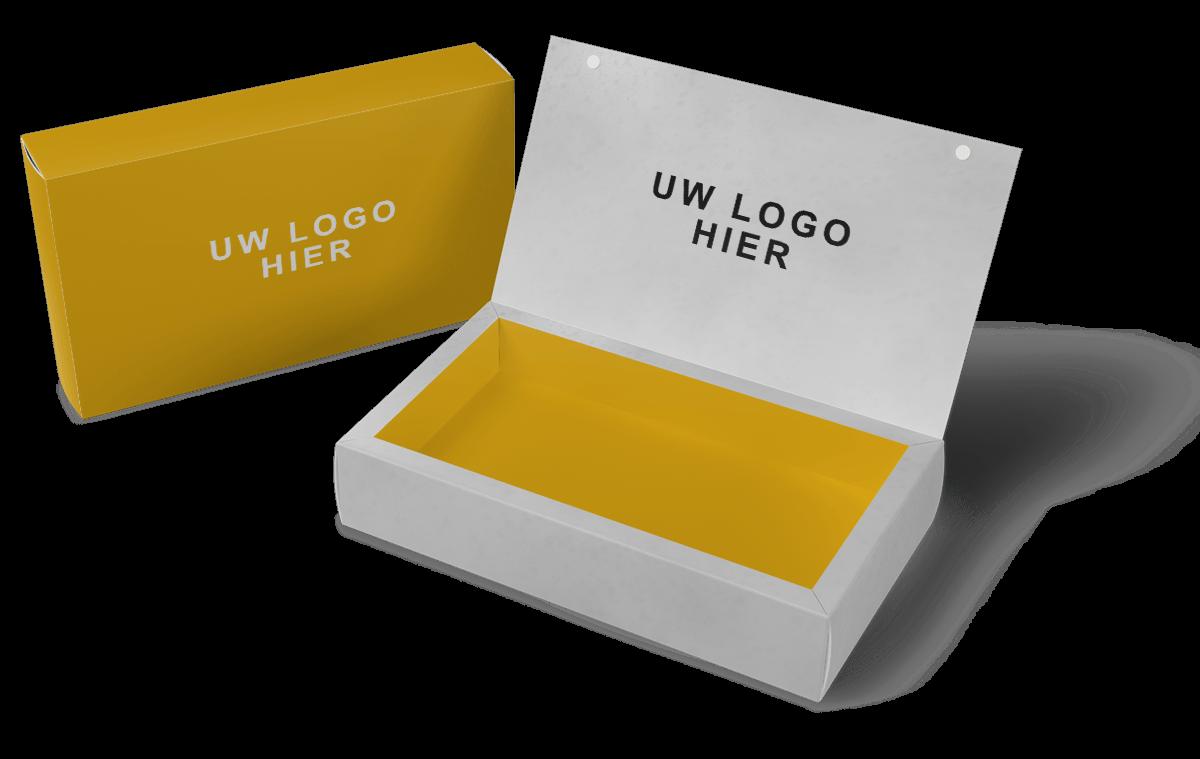 Vaessen Co-Packing uw eigen logo op doosje